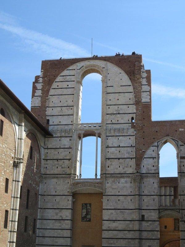 Catedral de Siena. Vista da cidade