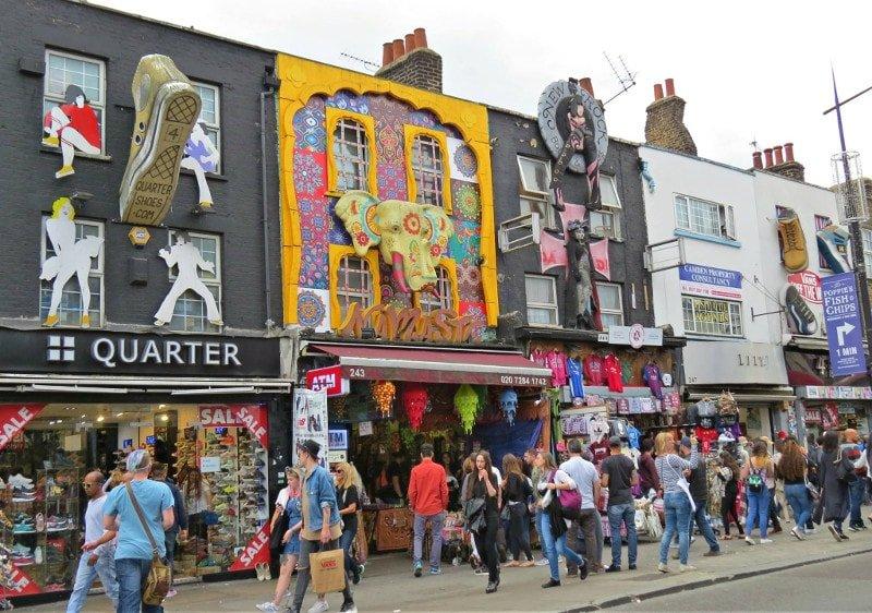 Principal rua de Camden Town