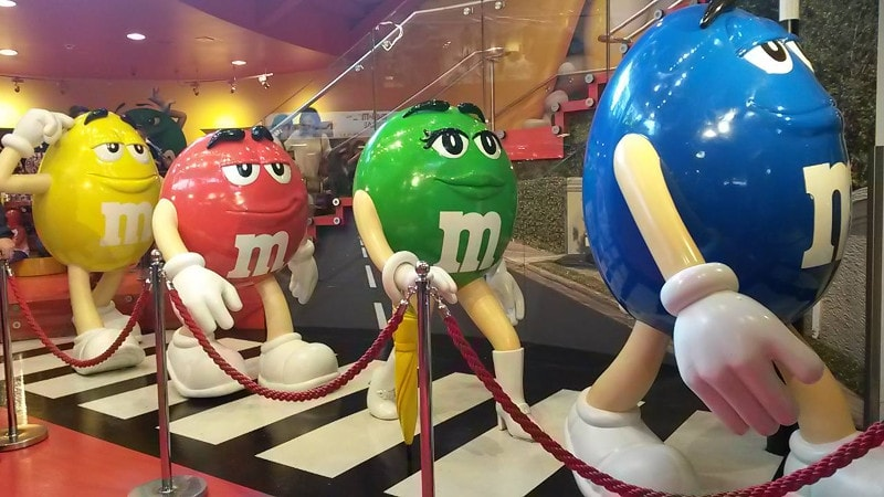 """Beatles"" na M&M Store"