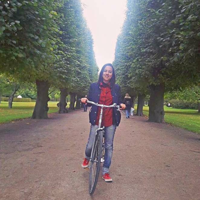 Bike que usei para explorar a cidade.