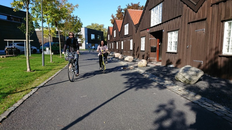 Bike tour em Copenhague.
