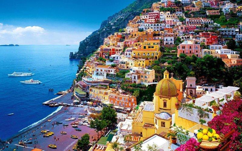 Costa Amalfitana - Itália |10 lugares para visitar antes de morrer