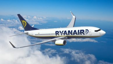 Avião da Ryanir