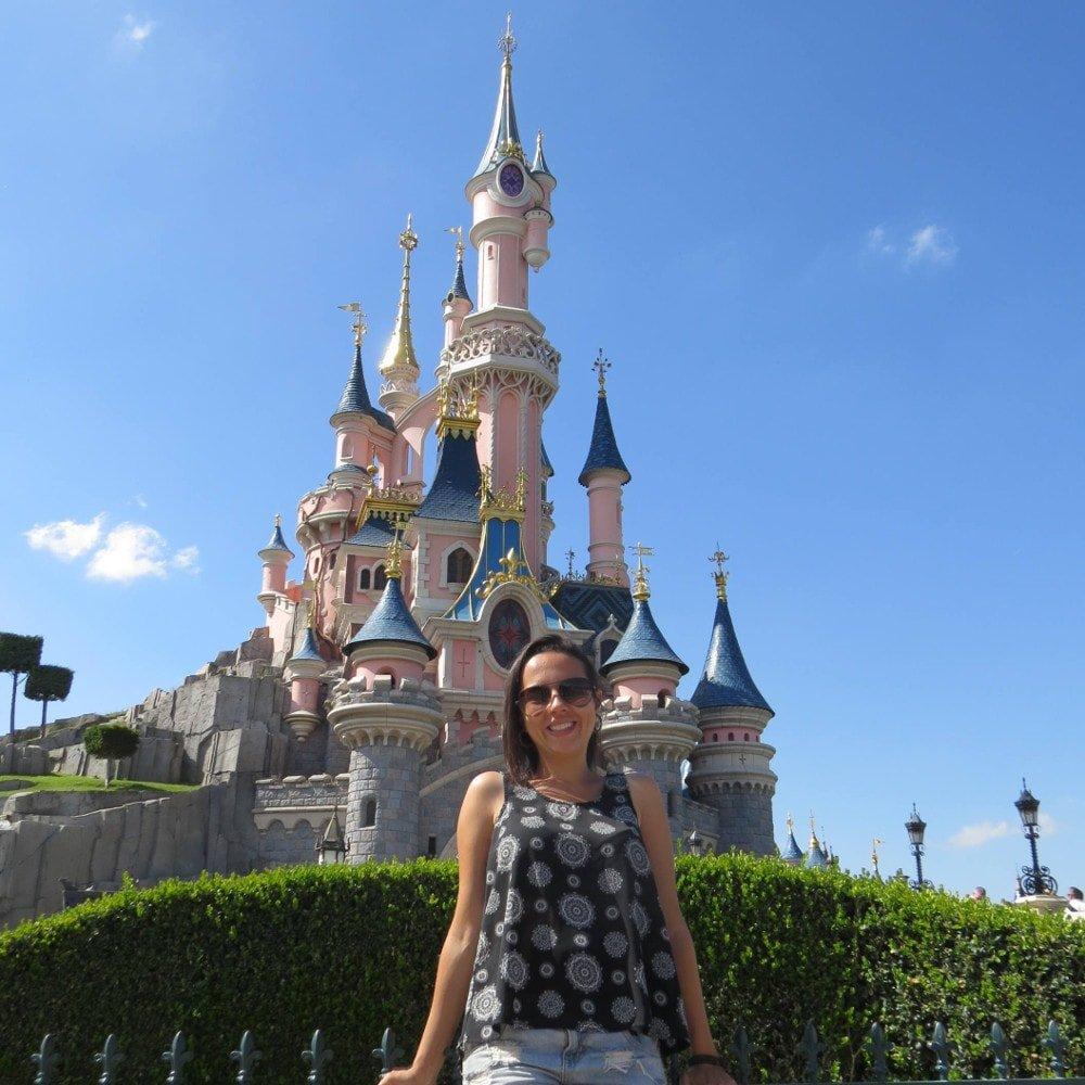 Eu e o Castelo da Bela Adormecida   O que fazer na Disney Paris em 1 dia