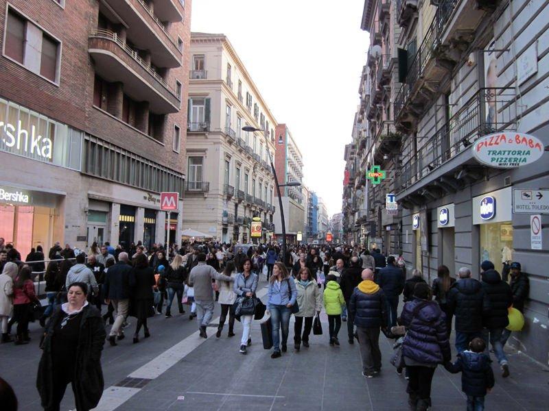 Via Toledo - Foto: Menu de Viaje