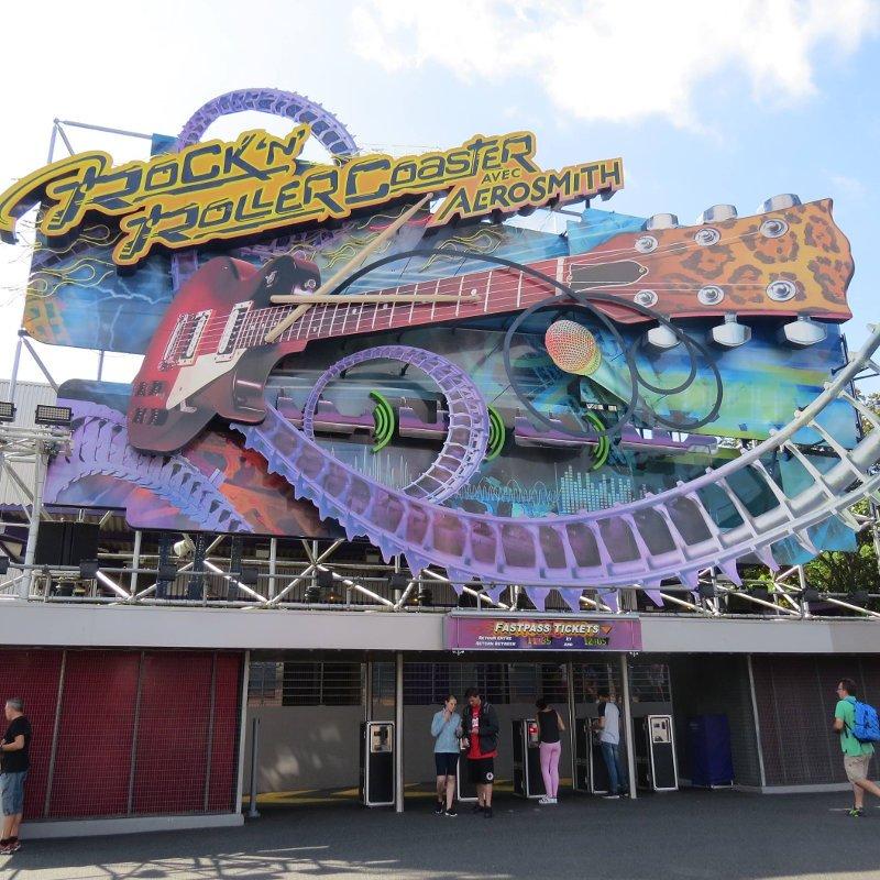 Rock'n'Roller Coaster.