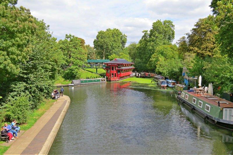 Regents Canal   O que fazer em Londres em 4 dias