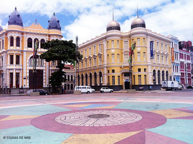Marco Zero - Recife Antigo.