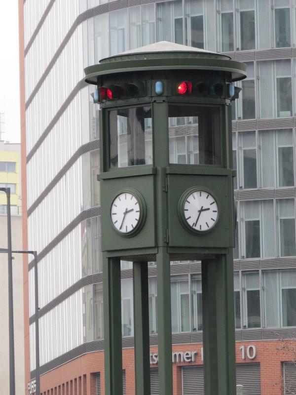 Réplica do semáforo.