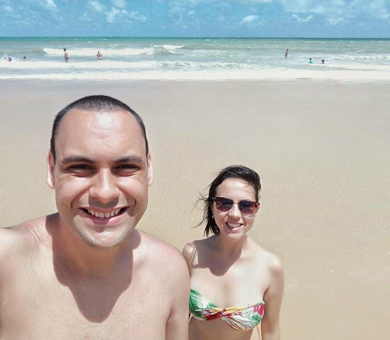Equipe Partiu Viajar curtindo uma praia =)