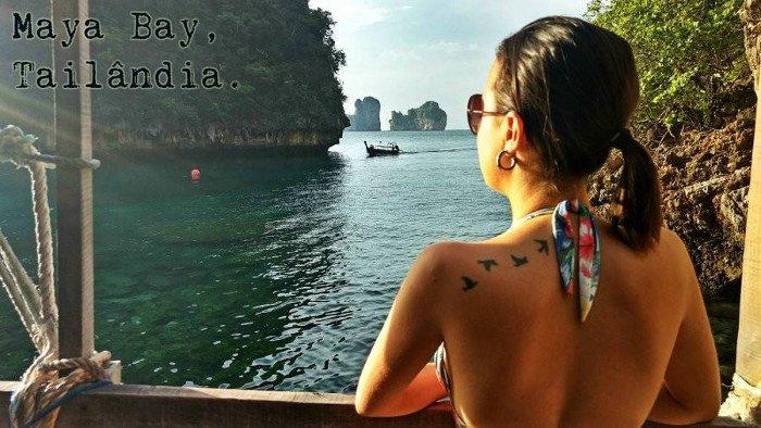A praia! Tailândia é um dos meus países favoritos!