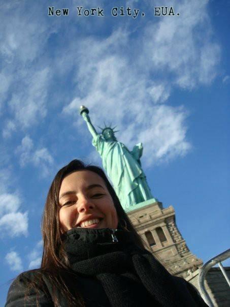 Olha a Estátua da Liberdade aí!