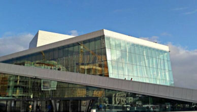 Oslo Ópera House.