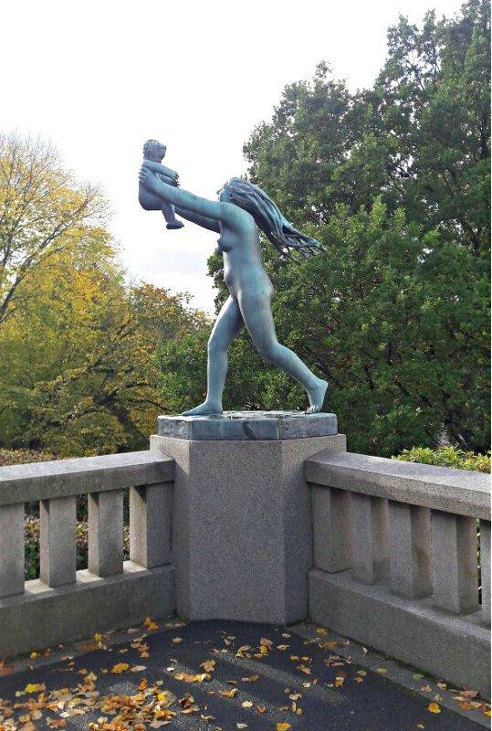 Parque Vigeland.