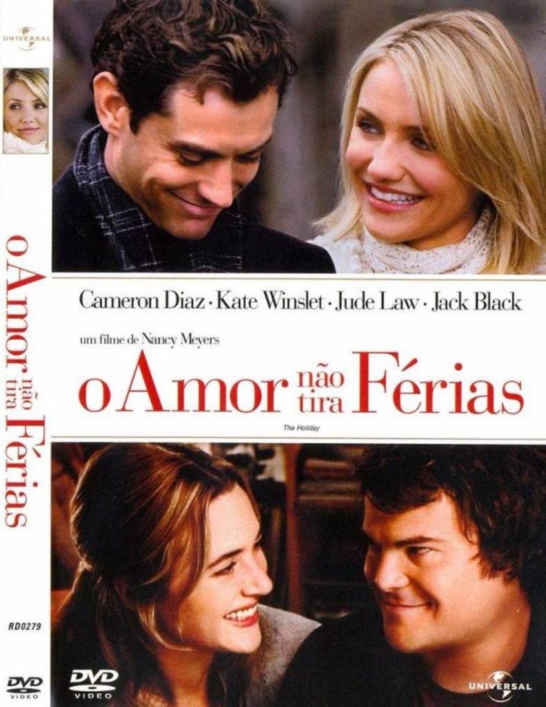 Capa do filme O amor não tira férias