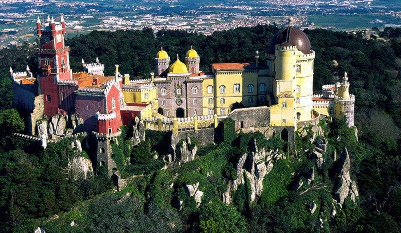 Sintra - Palácio da Pena =)