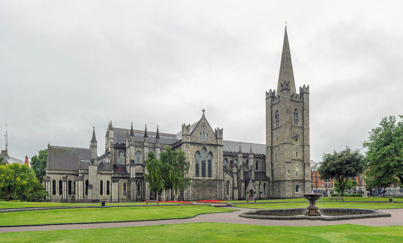 Exterior da St Patrick's Cathedral