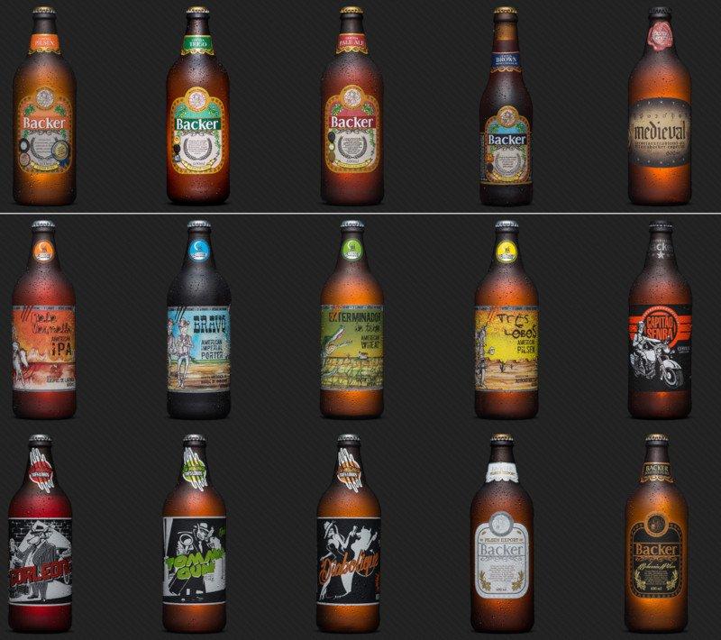 Tour na Maternidade Cervejeira Backer: Rótulos de Cerveja Backer