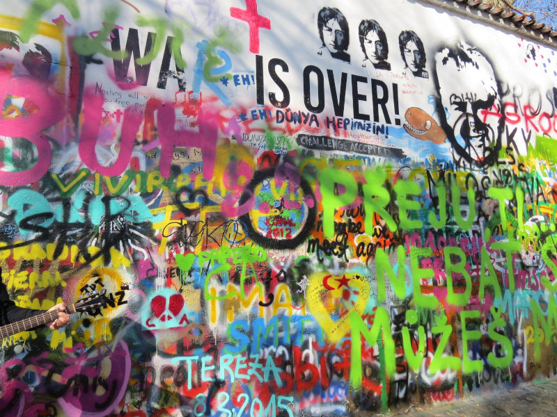 Lennon Wall - Praga