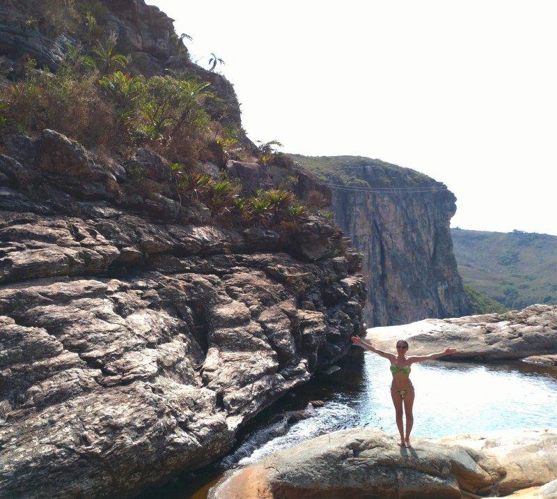 Mais uma do alto da Cachoeira!