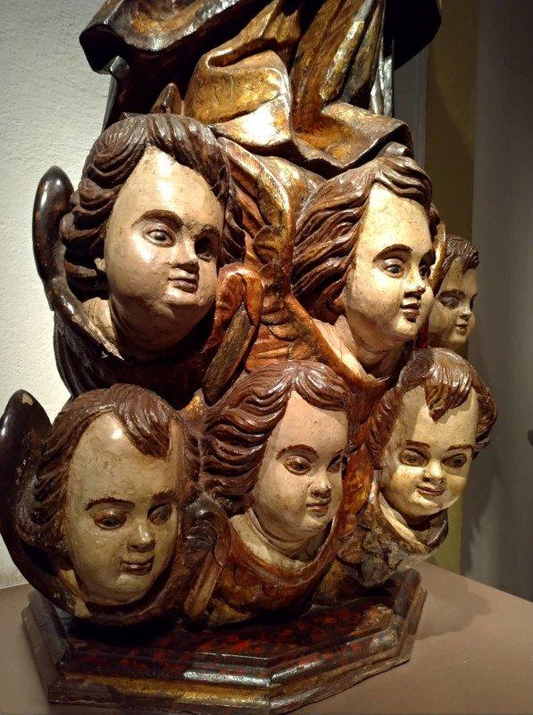 Peça exposta no segundo andar do Museu