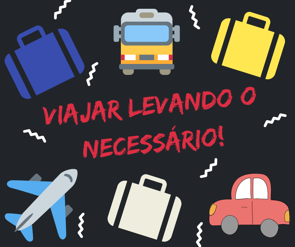 Checklist: o que levar na bagagem de viagem