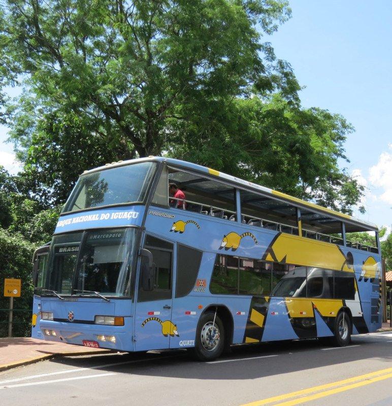 Ônibus panorâmico do parque | 21 dicas para visitar as Cataratas do Iguaçu