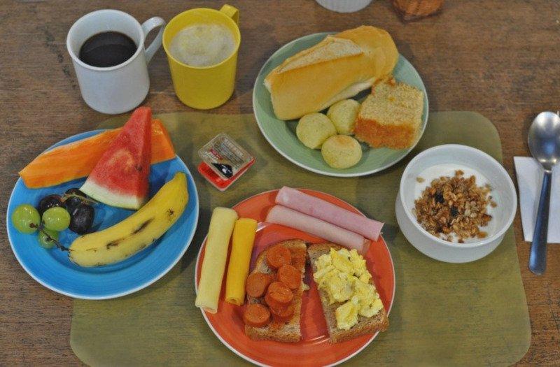Café da manhã | Mago Tree Hostel em Ipanema