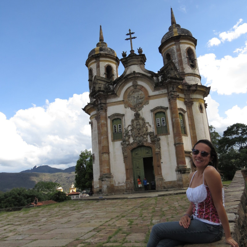 Igreja de São Francisco de Assis em Ouro Preto.