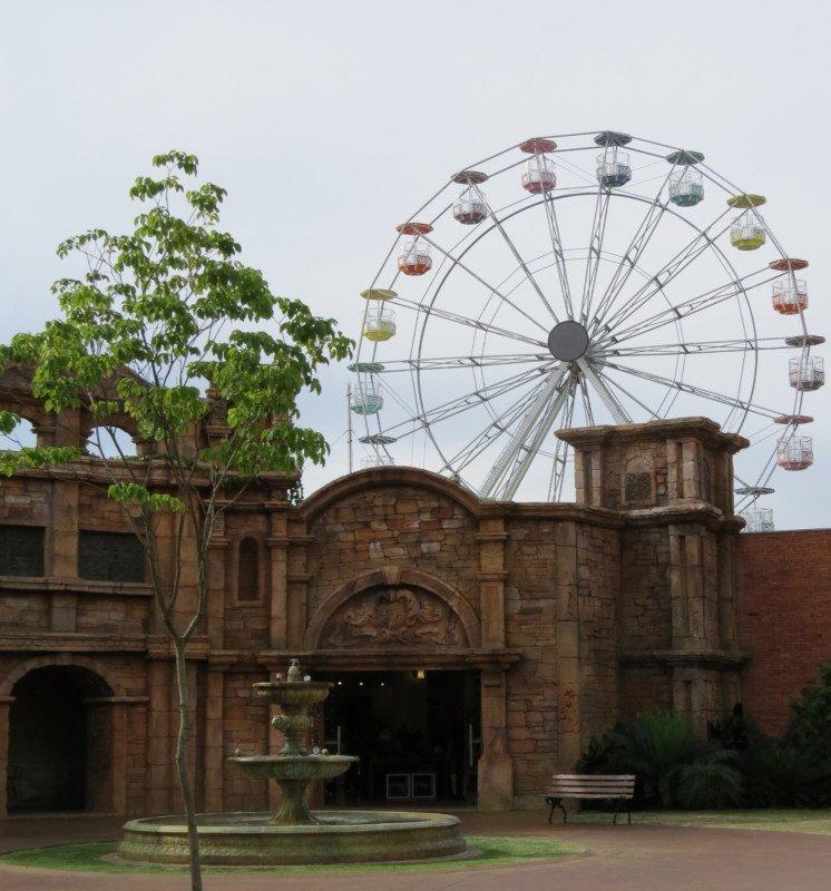 Roda gigante do Marco das Três fronteiras