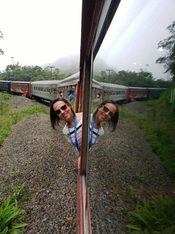 Passeio de trem de Morretes para Curitiba