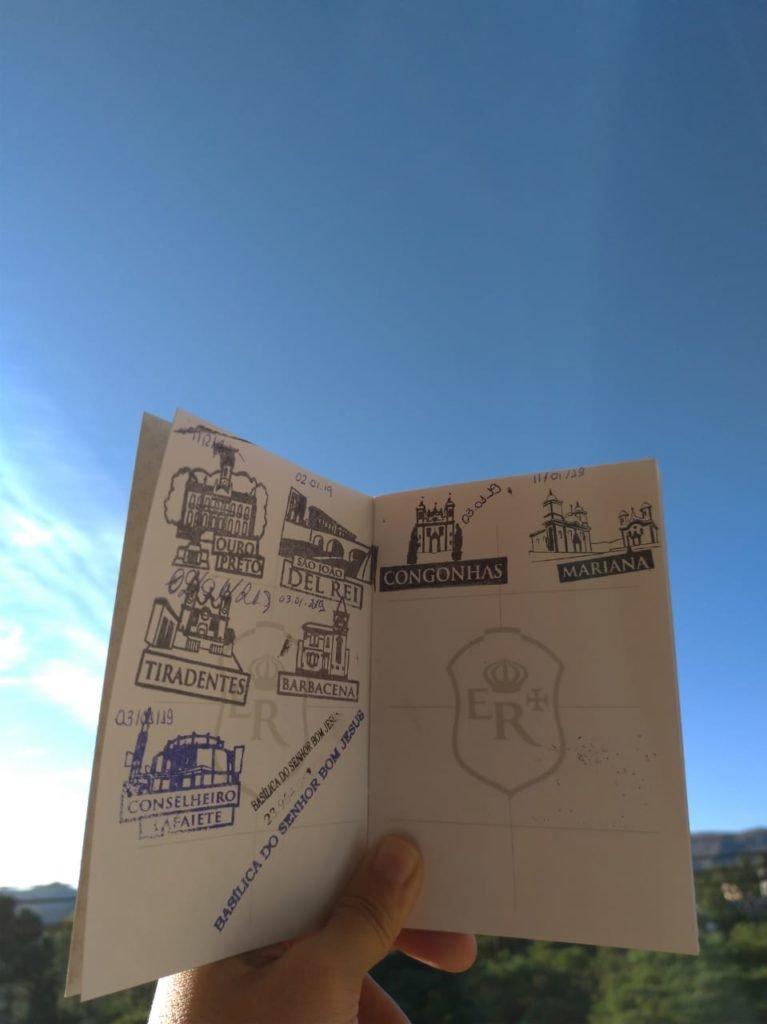 Passaporte Estrada Real: como conseguir e onde carimbar.