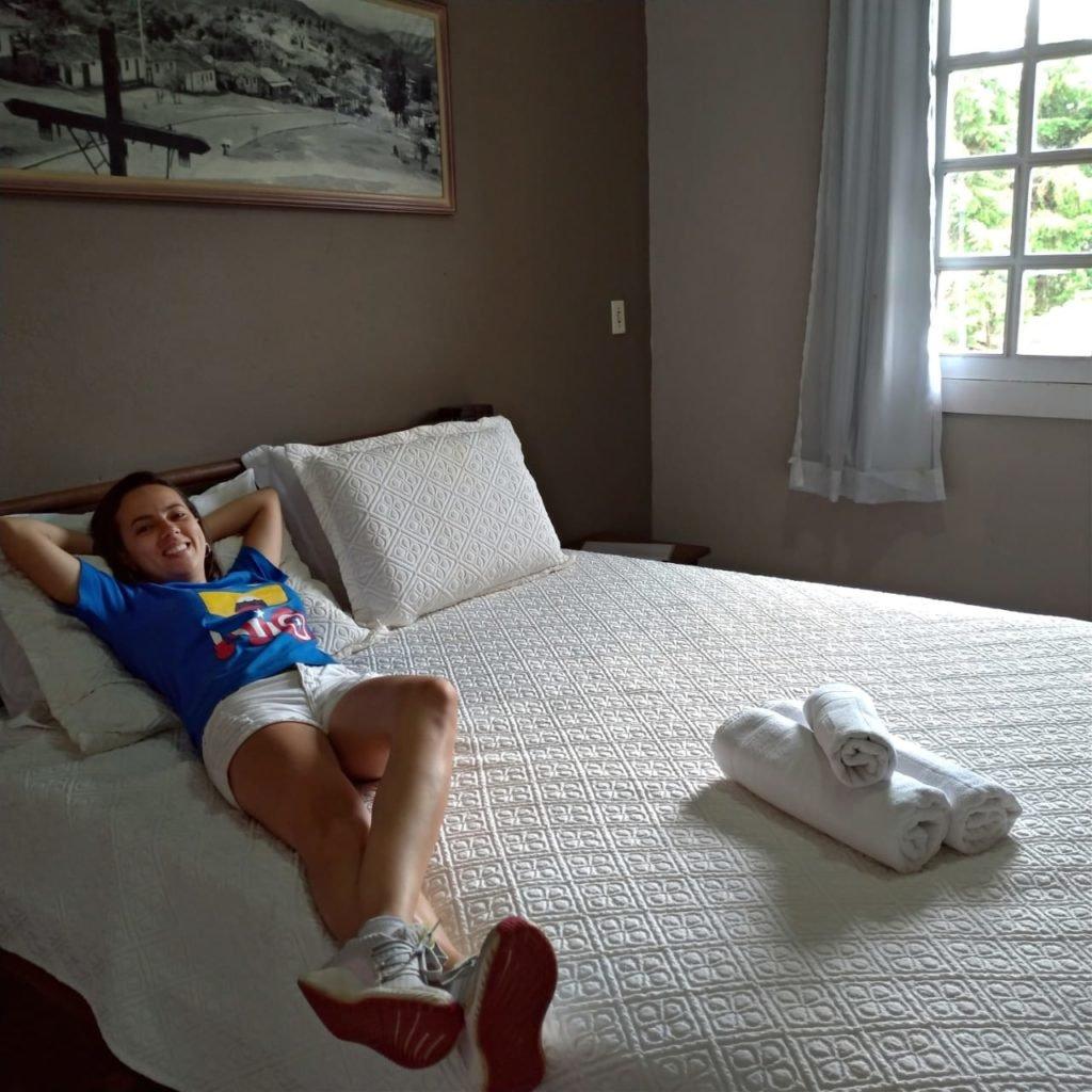 Pausa para o descanso e para foto! | O que fazer em Lavras Novas