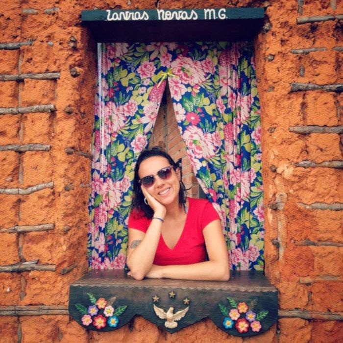 A janela mais charmosa de Lavras Novas.