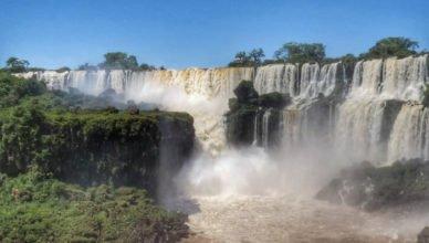 Vista Panorâmica das Cataratas argentinas.