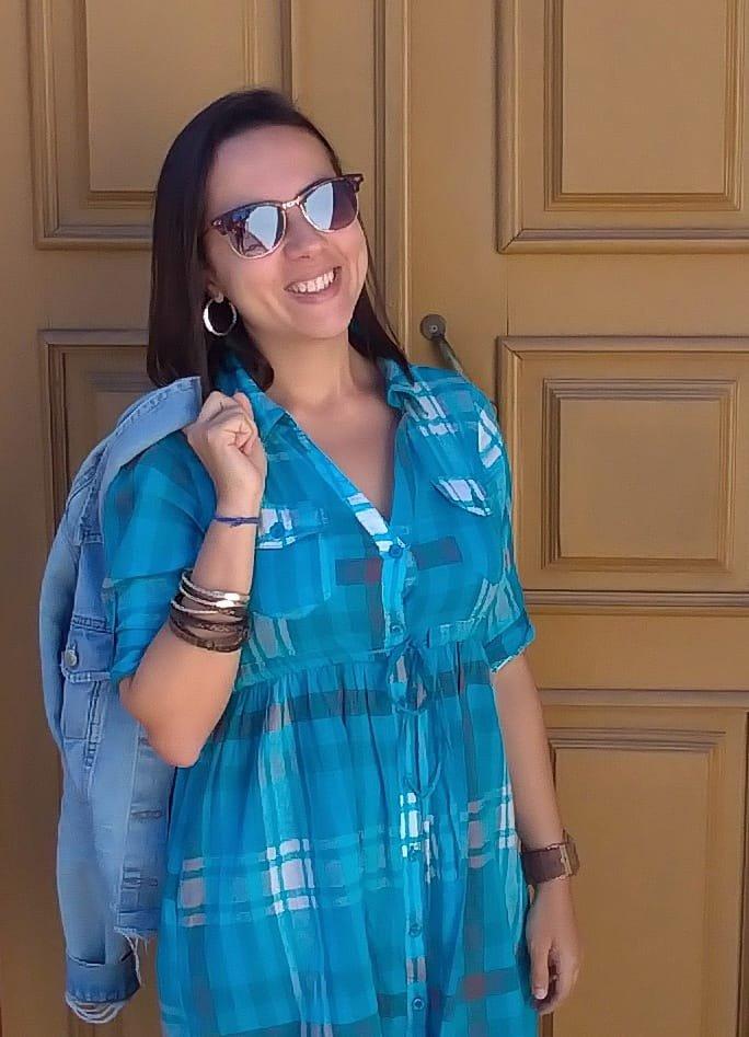 Lid Costa - Blogueira do Partiu Viajar