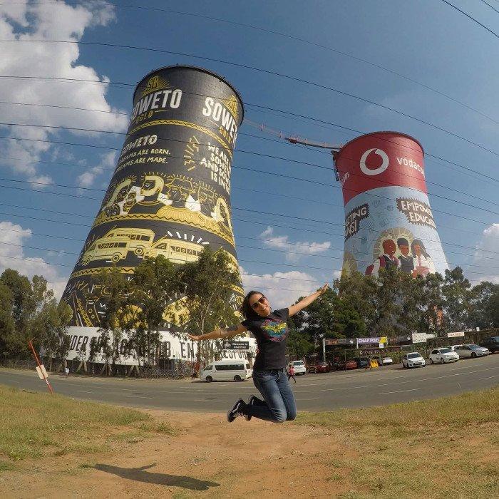 Orlando Towers, Joanesburgo.
