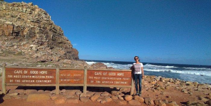 Cabo da Boa Esperança.