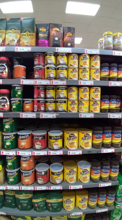 Supermercado em Victoria Falls   O que fazer no Zimbábue