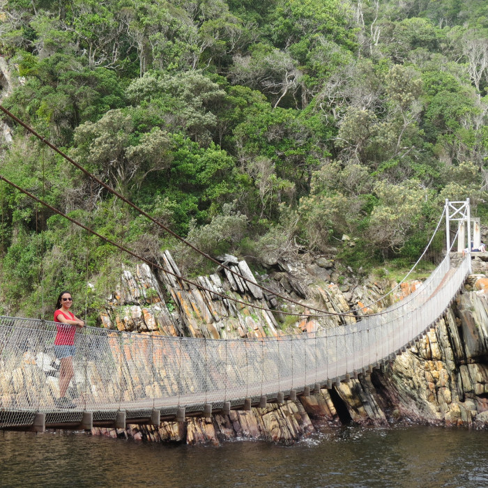 Tsitsikamma National Park - Suspension Bridge