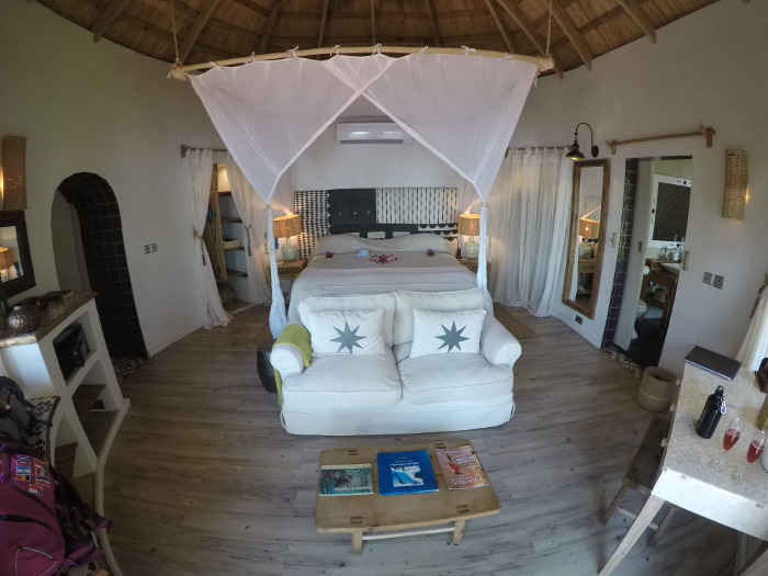 Quarto do The River Cottage | Where to Stay in Livingstone