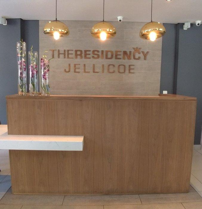 Recepção do The Residency Jellicoe | Onde se hospedar em Joanesburgo