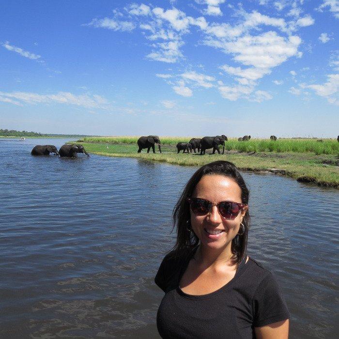 Safari no Chobe National Park.