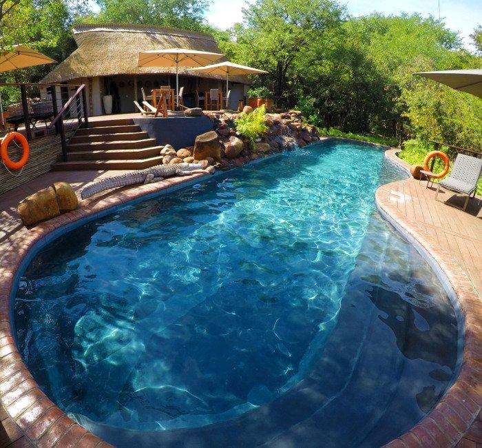 Piscina do Victoria Falls Safari Club