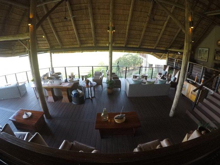 Salão principal | Onde ficar em Victoria Falls