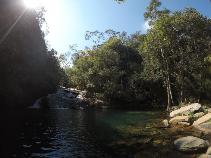 Cachoeira das Esmeraldas.
