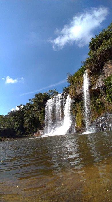 Cachoeira da Fumaça   O que fazer em Carrancas - MG