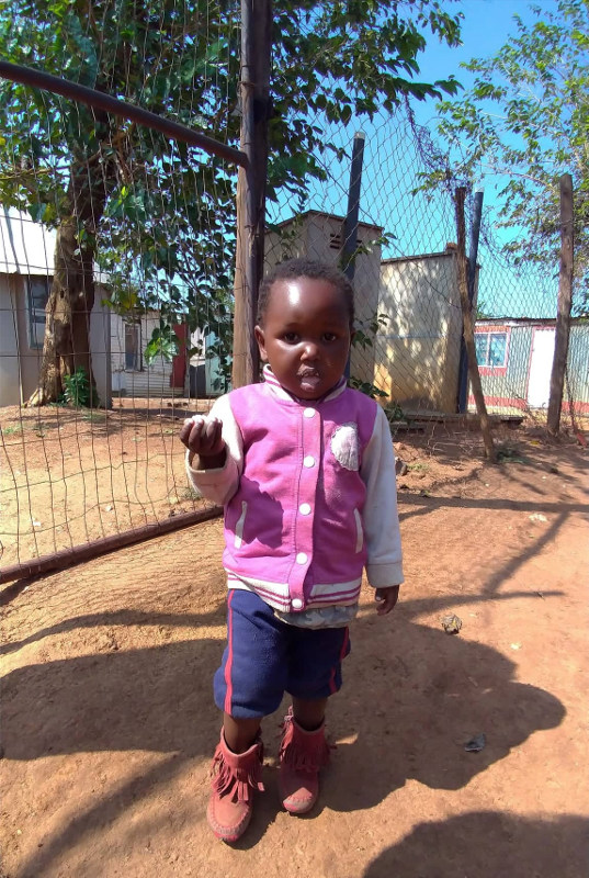 Criança em Soweto