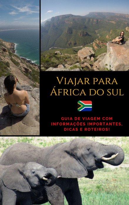 Capa do eBook Viajar para África do Sul