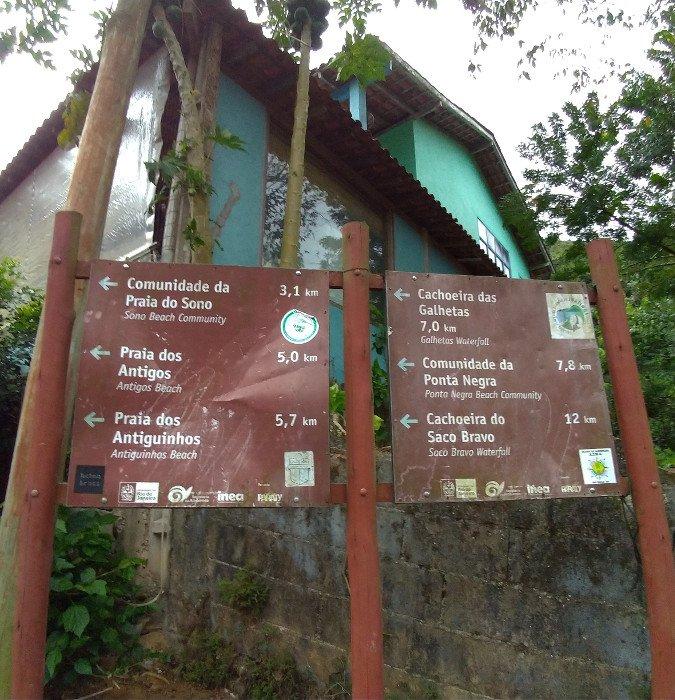 Início da trilha para a Praia do Sono   O que fazer em Paraty em 3 dias